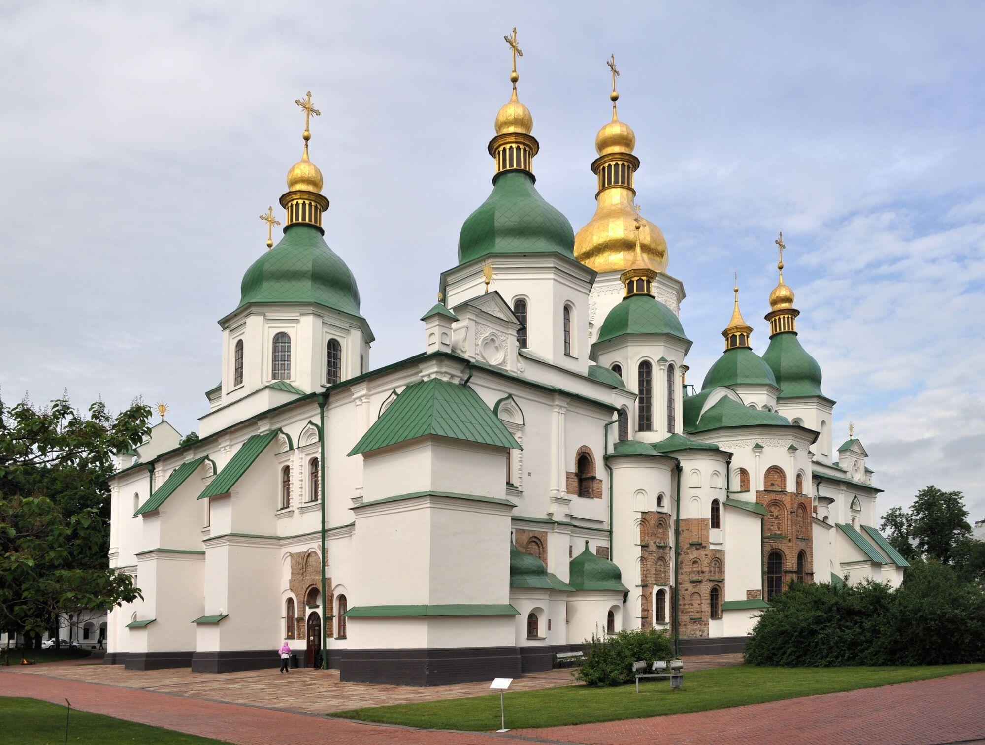 Софийский собор является одной из древнейших церквей в Украине