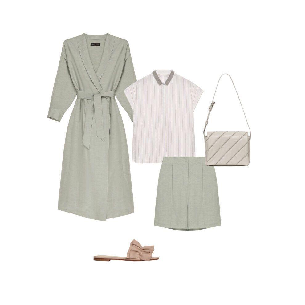 Лляні костюми – класика літнього гардеробу