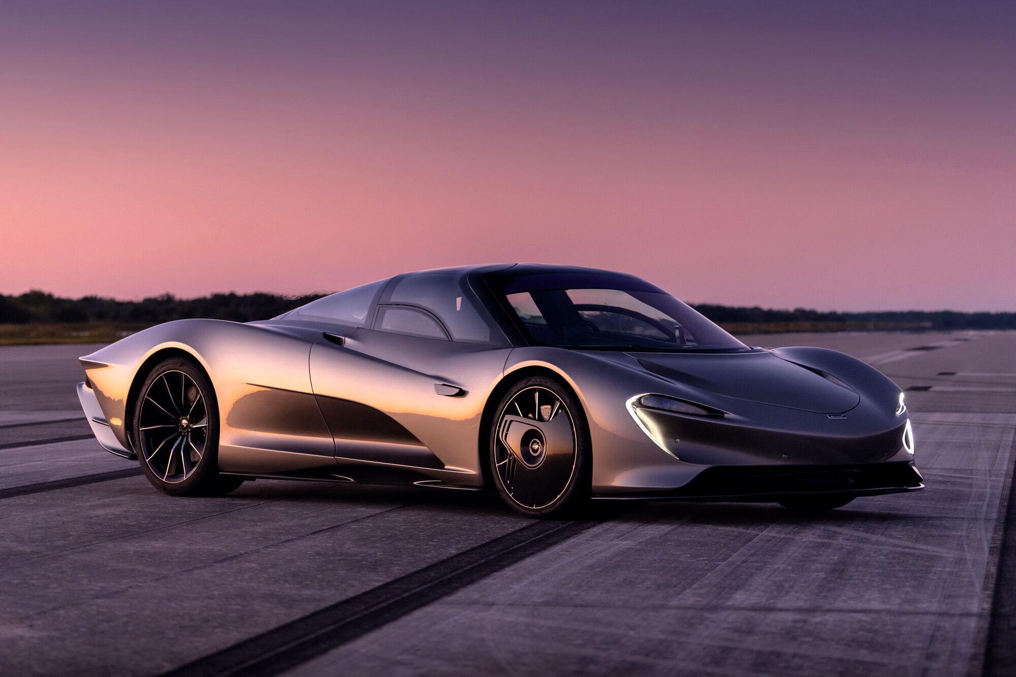 McLaren Speedtail є найдорожчим і найшвидшим за всю історію бренду