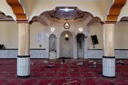 Бомба була закладена всередині мечеті