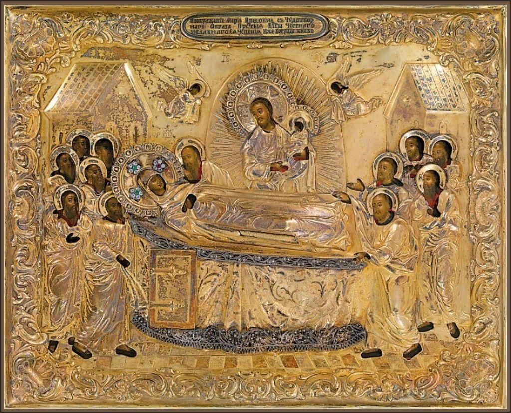 """16 мая православная церковь проводит празднования в честь икон Божией Матери """"Успение"""" Киево-Печерской."""