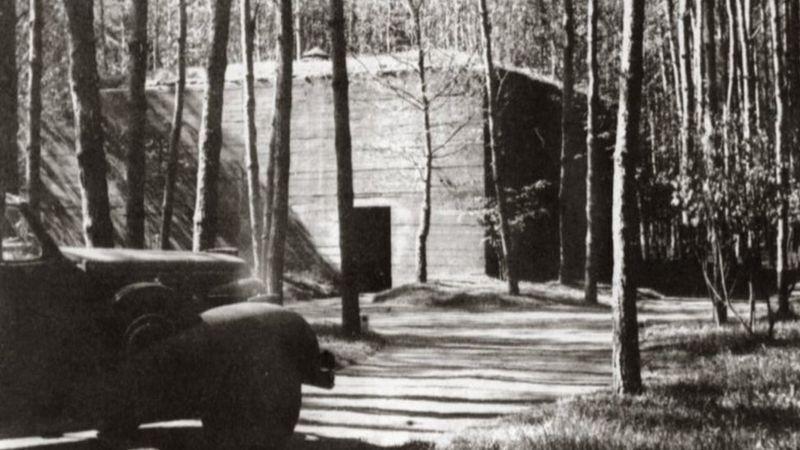 """Офицерский бункер в """"Верфольфе"""", 1942 год"""