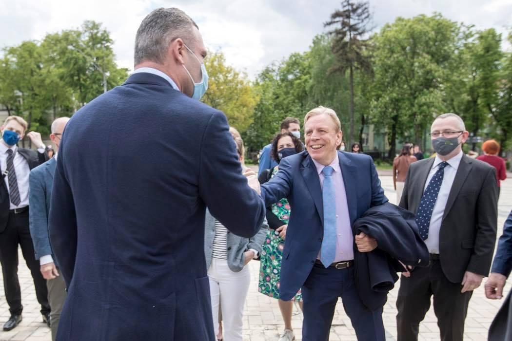 Мер Києва Віталій Кличко взяв участь в урочистій церемонії відкриття Дня Європи