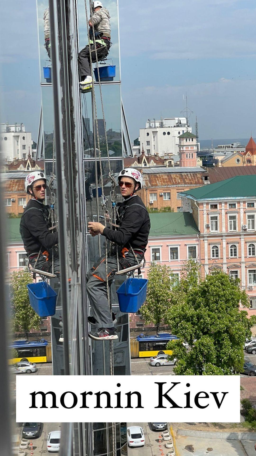Тіна Кунакі прилетіла до Києва для зйомок в рекламі