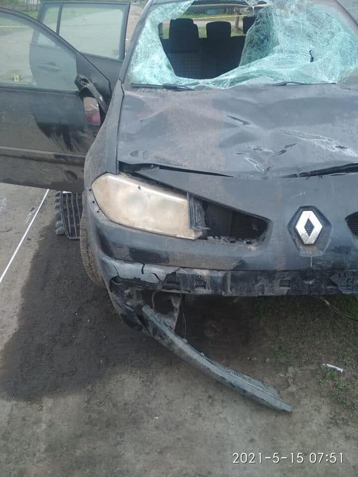 На Луганщине произошла авария