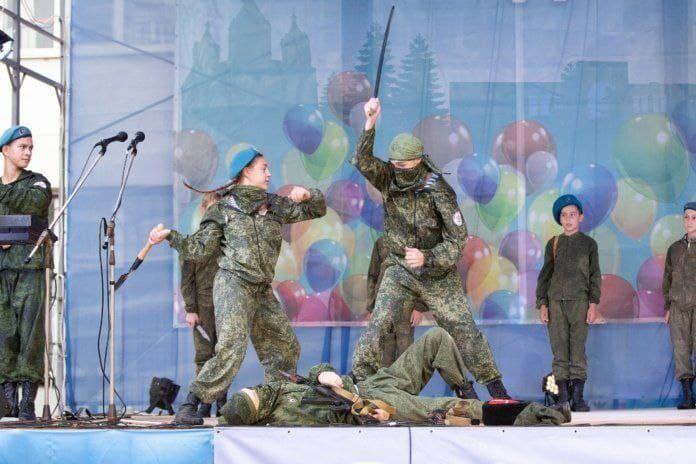 """Как выглядит российская """"Юнармия"""""""