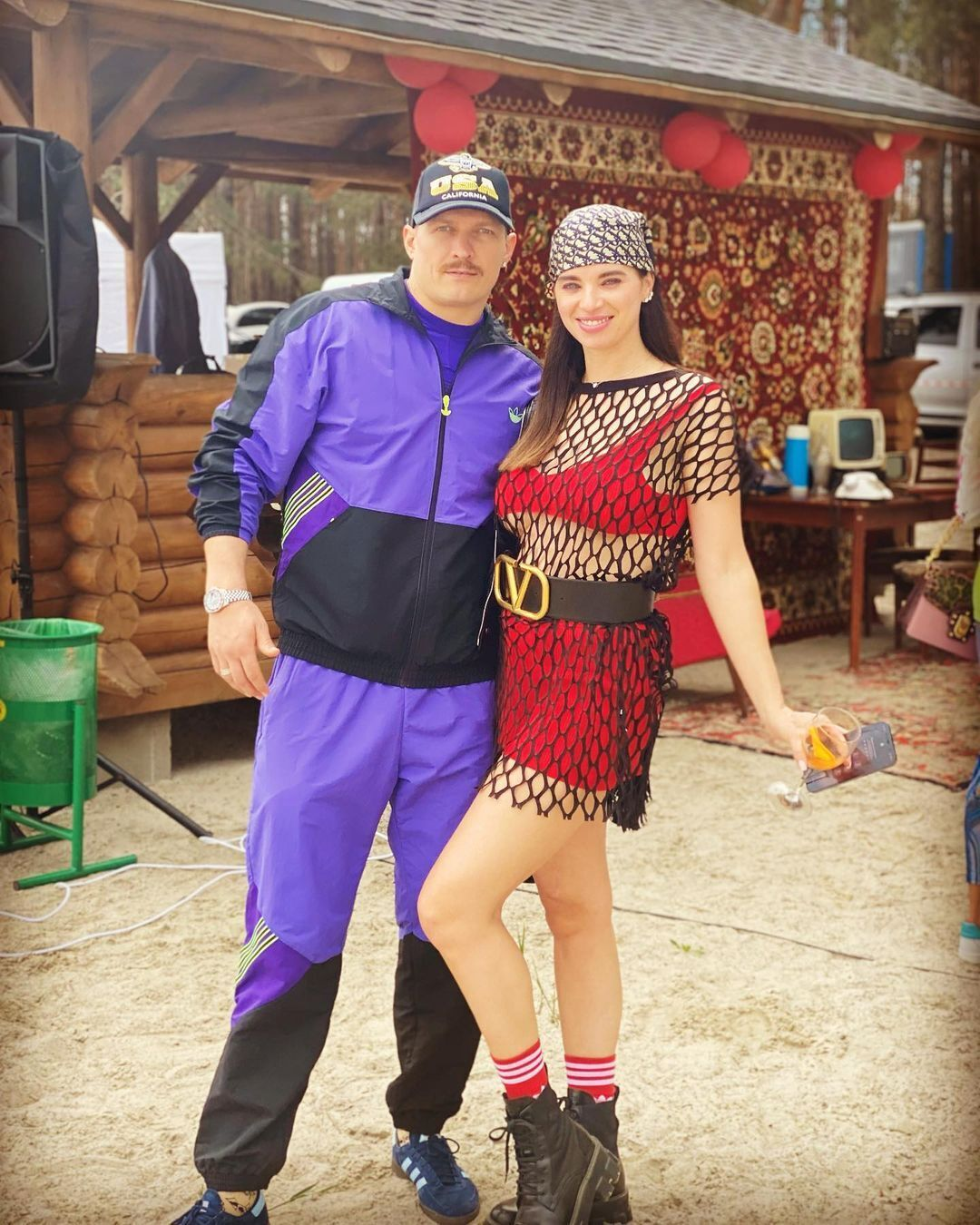 Олександр Усик і Катерина Хмелевська