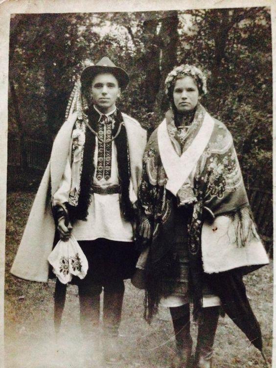 Украинская свадьба в 1951 году.