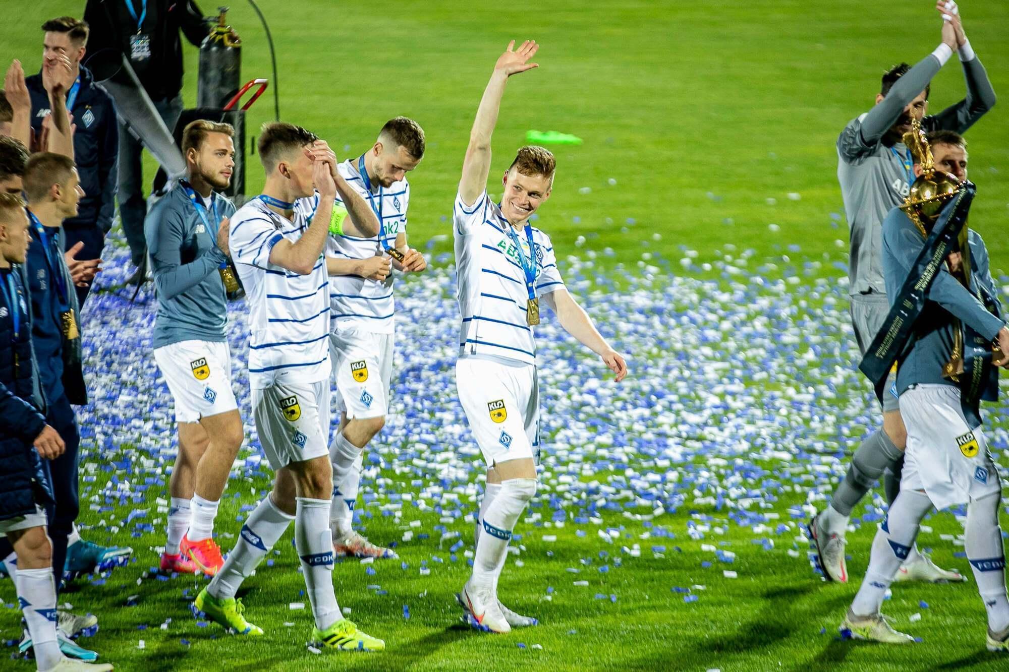Виктор Цыганков забил победный гол в финале КУ