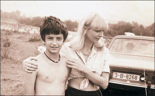 Неллі із сином