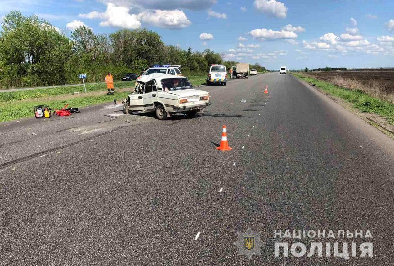 ДТП трапилася на трасі в бік Чугуєва