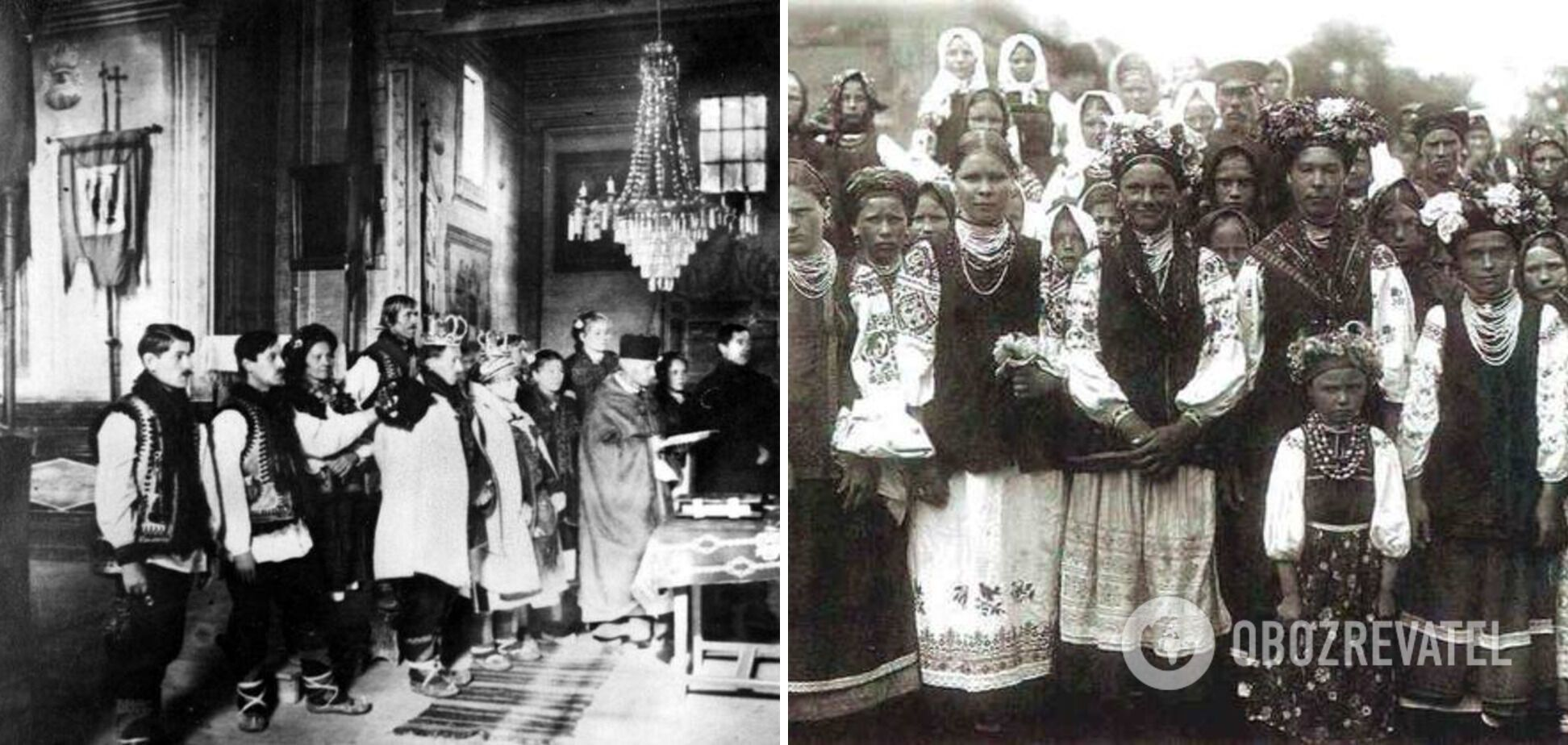 Венчание по традиции проходило в церкви.