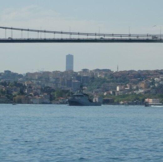 Патрульний корабель Trent увійшов до акваторії Чорного моря