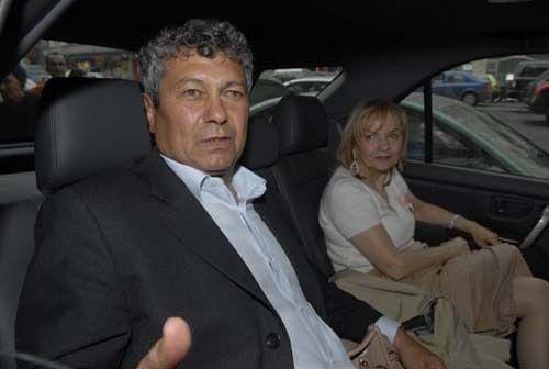 Неллі і Мірча Луческу в Донецьку