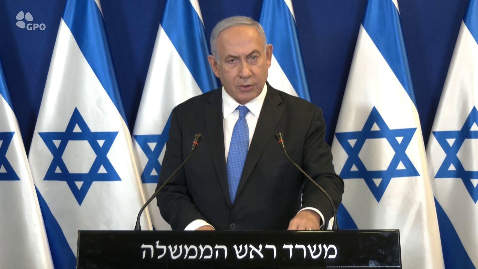 """Нетаньяху заявил, что военная операция против ХАМАСа """"продолжается в полную силу"""""""