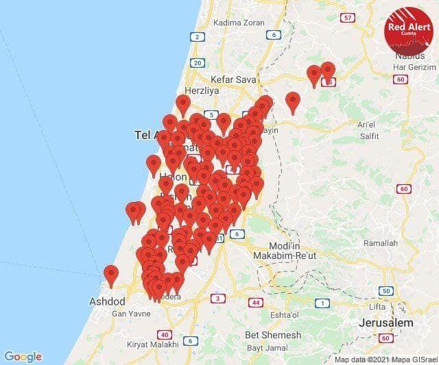 Обстріли Тель-Авіва