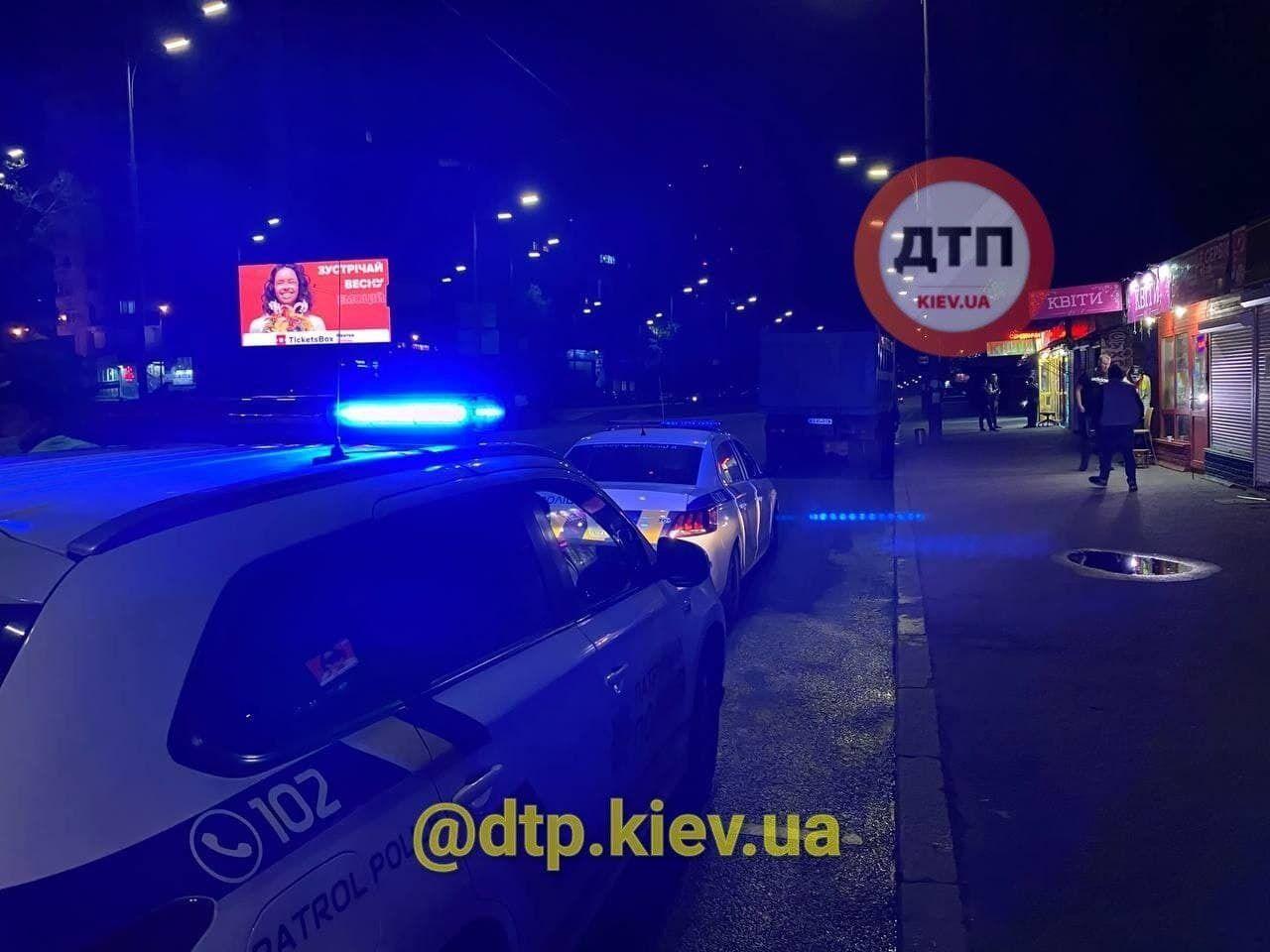 ДТП произошло на улице Васильковской