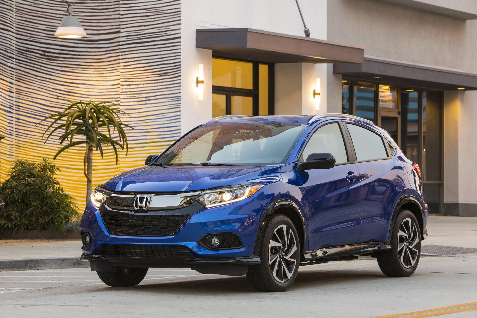 Honda HR-V має п'ять різних варіантів планування салону