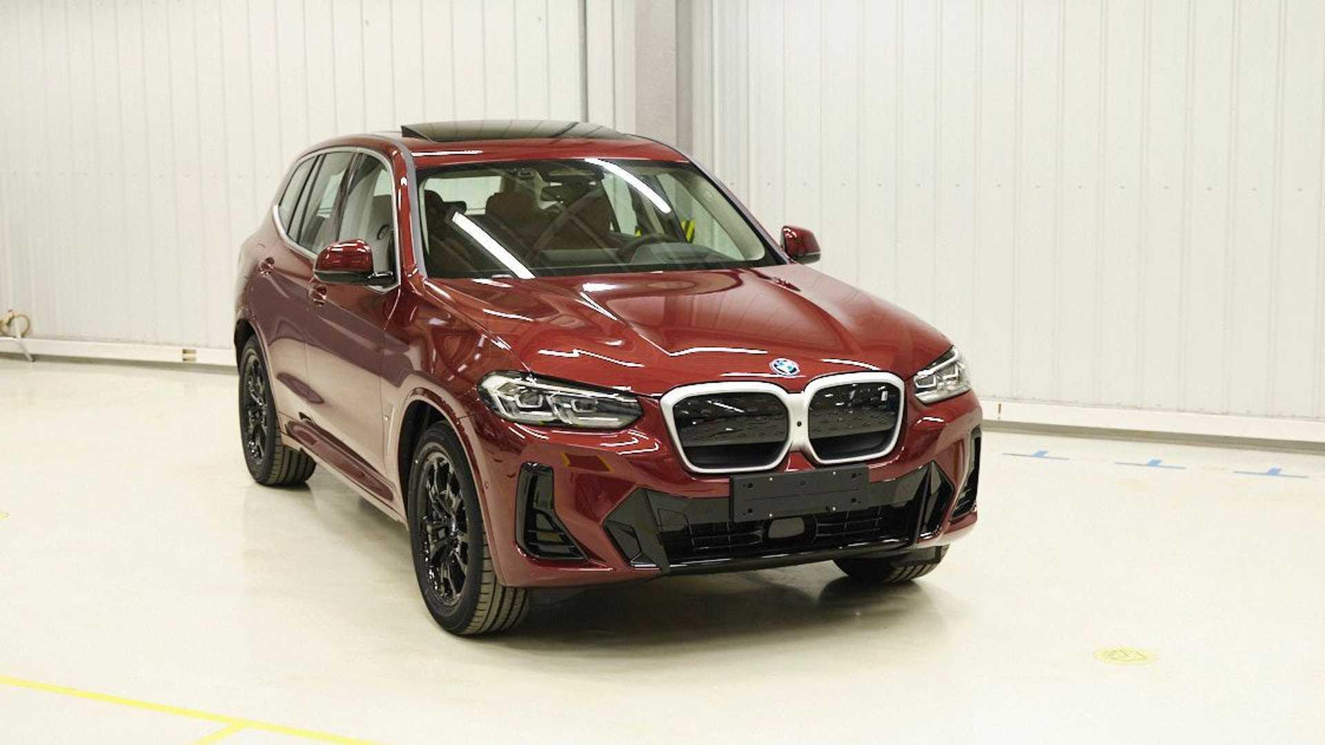BMW iX3 з новим дизайном