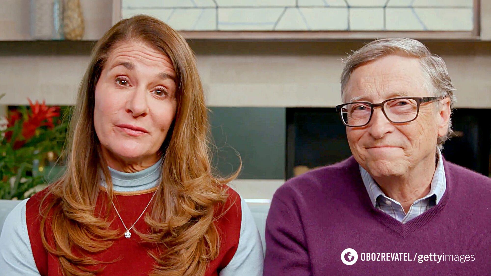Билл и Мелинда Гейтсы.