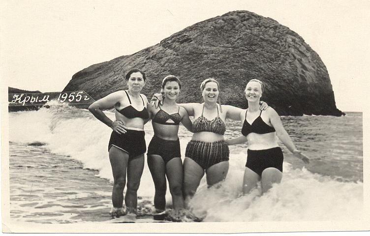 Какие купальники носили в СССР