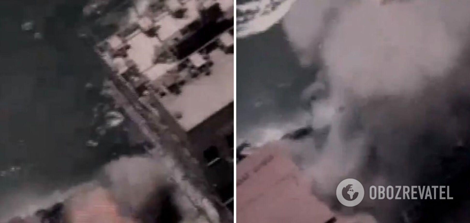 ВМС и БПЛА Израиля нанесли удар по субмарине ХАМАС