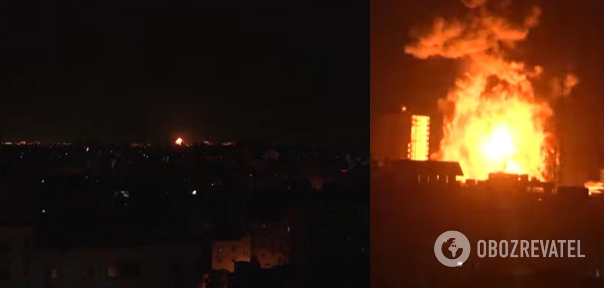 Обстрелы между Израилем и ХАМАСом