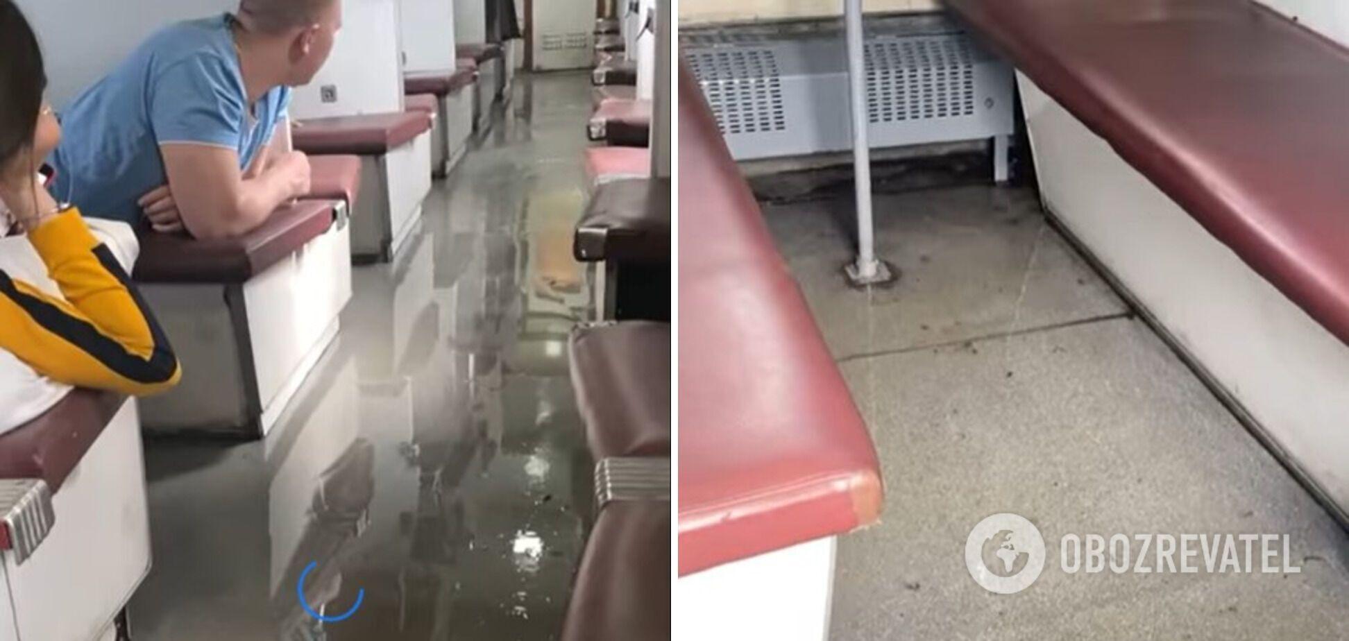 Потоп у вагоні поїзда Рахів – Одеса