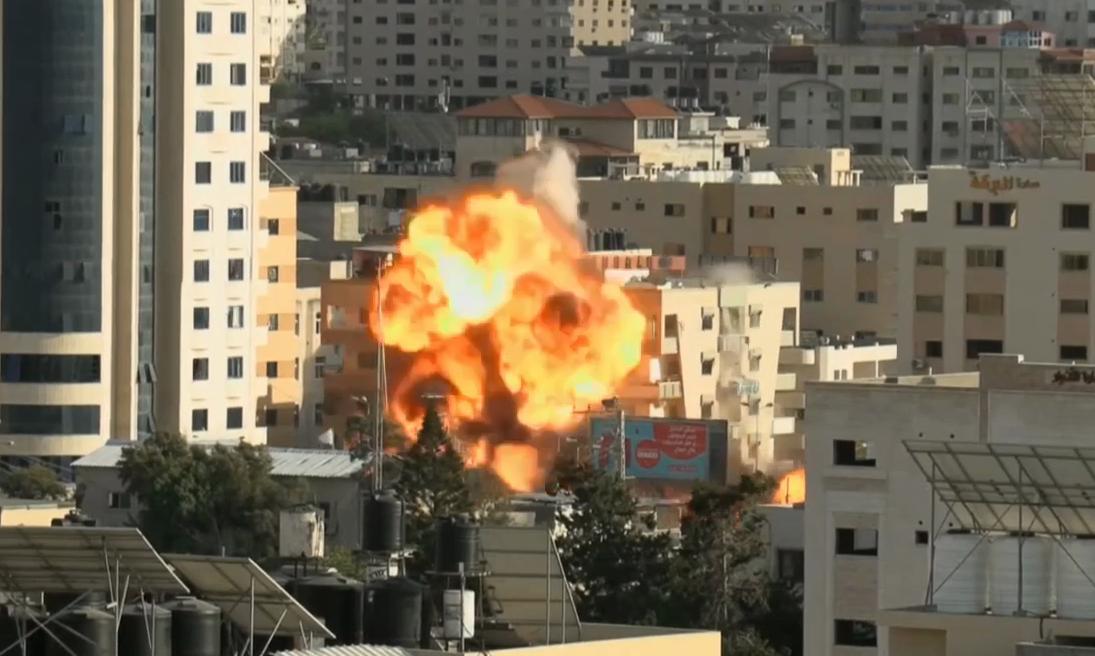Удар по штабу ХАМАС.
