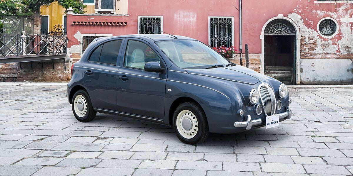 Дизайн передней части машины вдохновлен классическим седаном Jaguar Mark II 60-х годов прошлого века