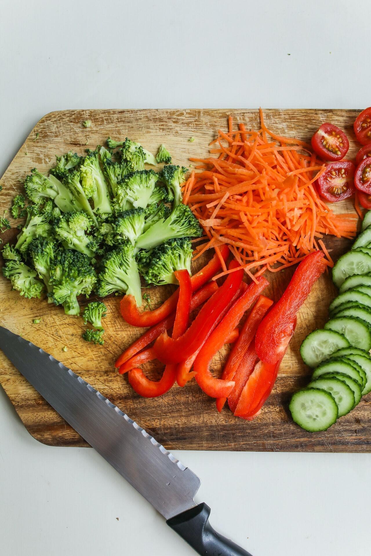 Овочі для салатів