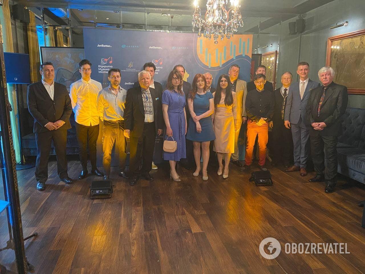 """Участники конкурса """"Украинский концертная увертюра"""""""