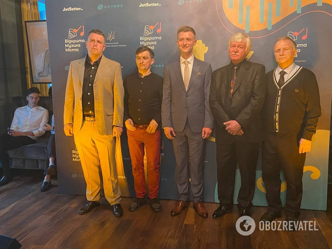 """Финалисты конкурса """"Украинский концертная увертюра"""""""