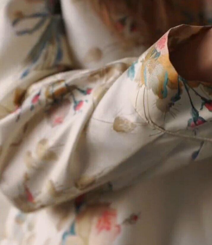 Платье с цеточным принтом стало хитом лета 2021.