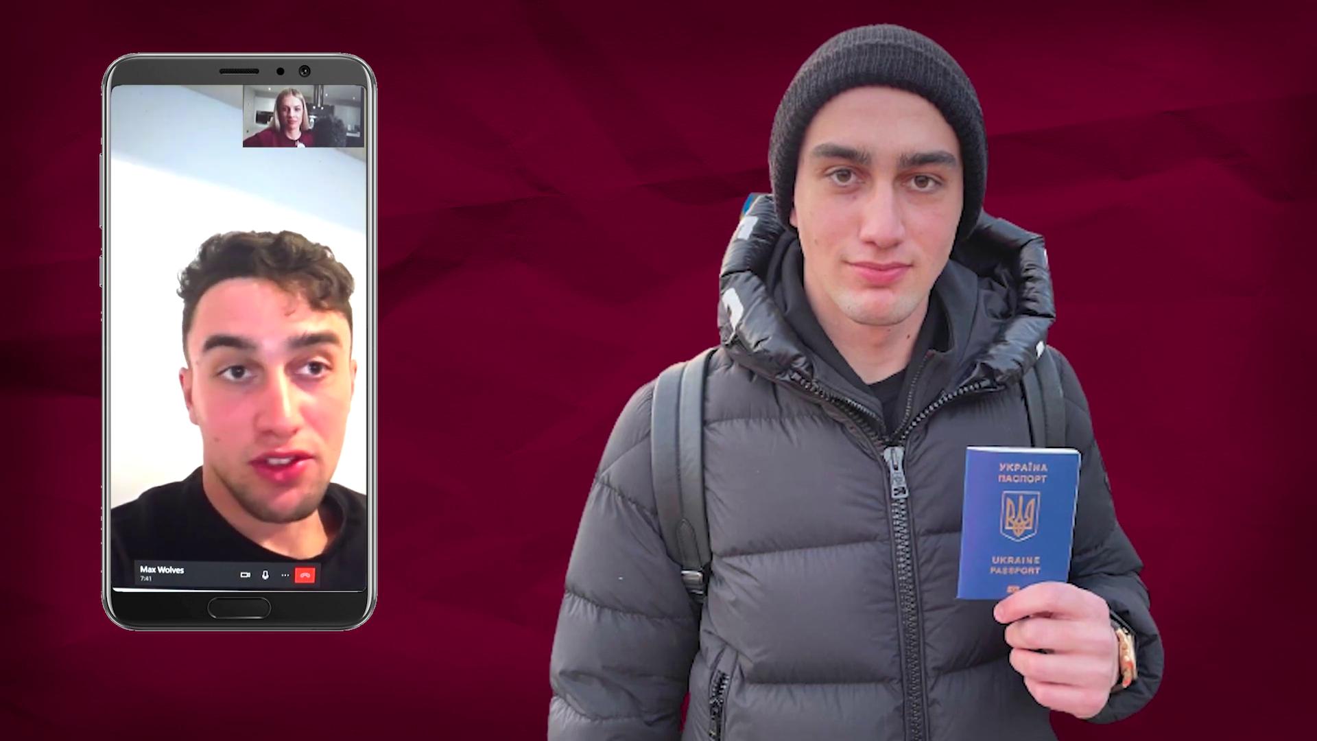 Макс Килман с украинским паспортом