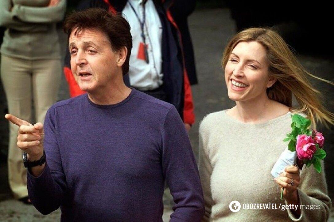 Пол Маккартні та Гізер Міллс були одружені шість років.