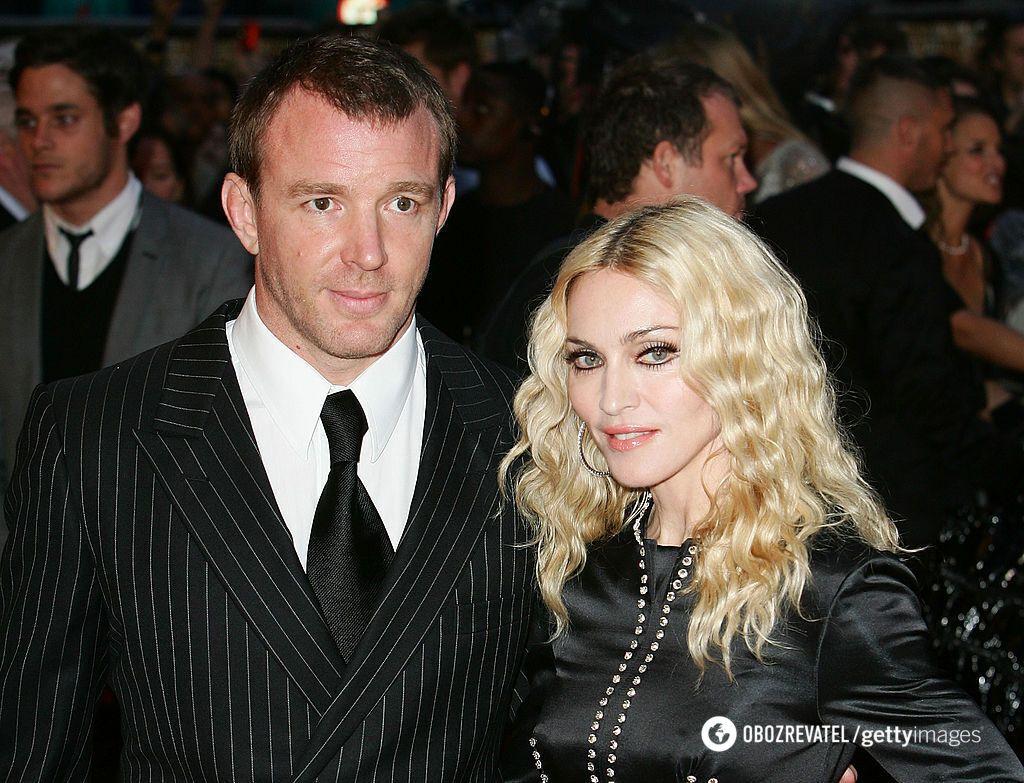 Мадонна та режисер Гай Річі були в шлюбі 8 років