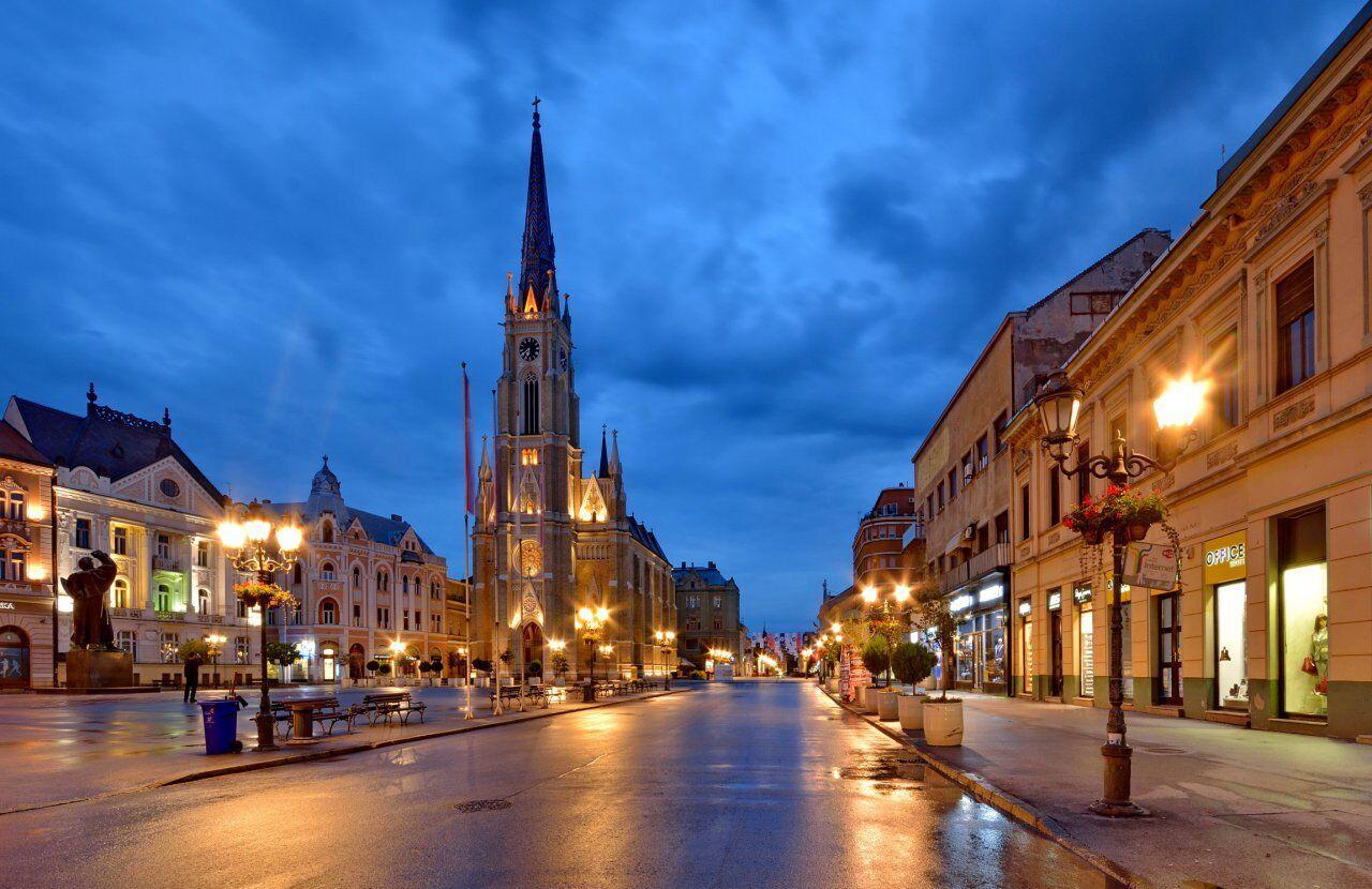 В сербском городе Нови-Сад туристам стоит посетить множество храмов всех конфессий.