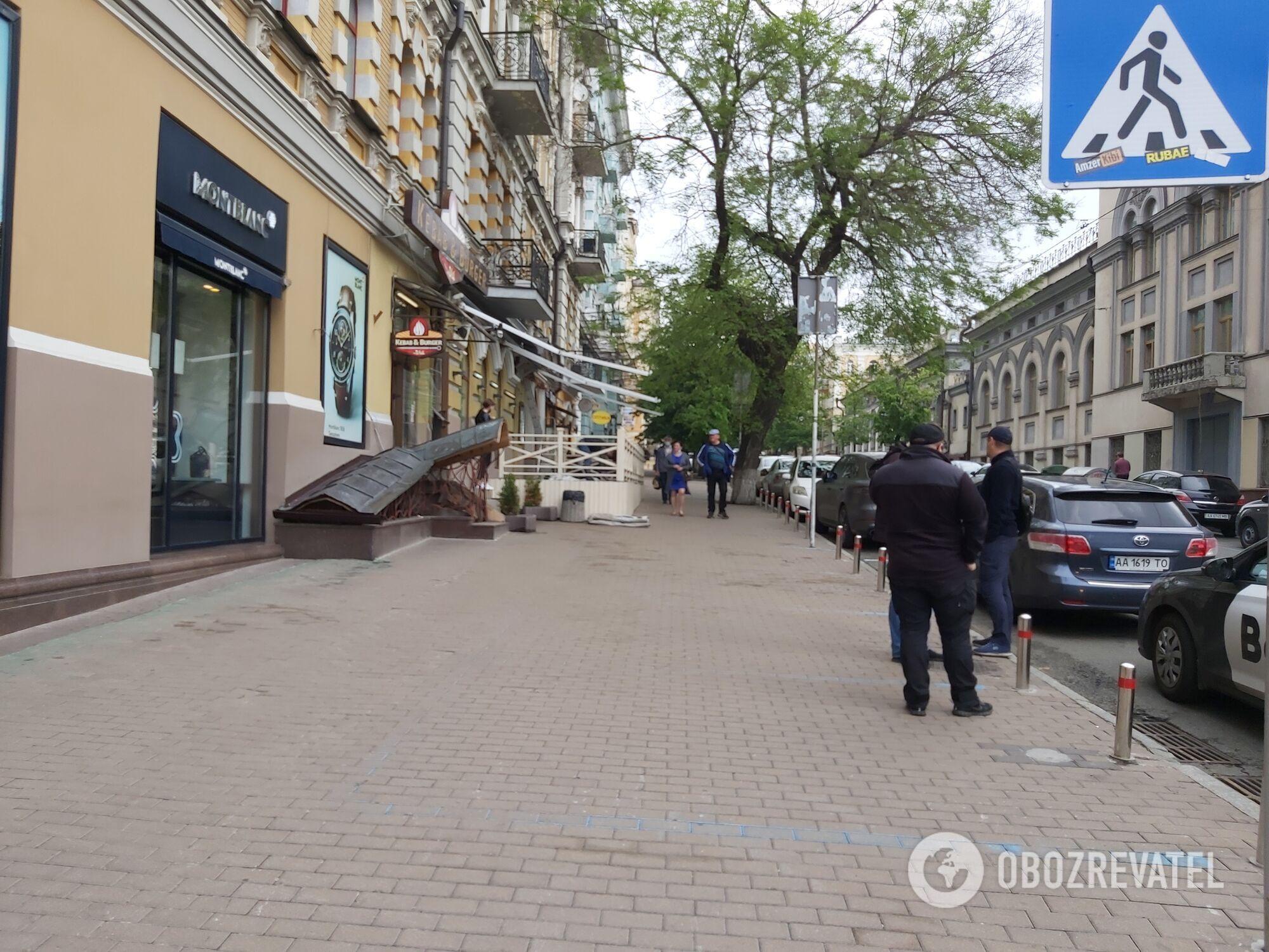 Дом, где проживает Виталий Кличко