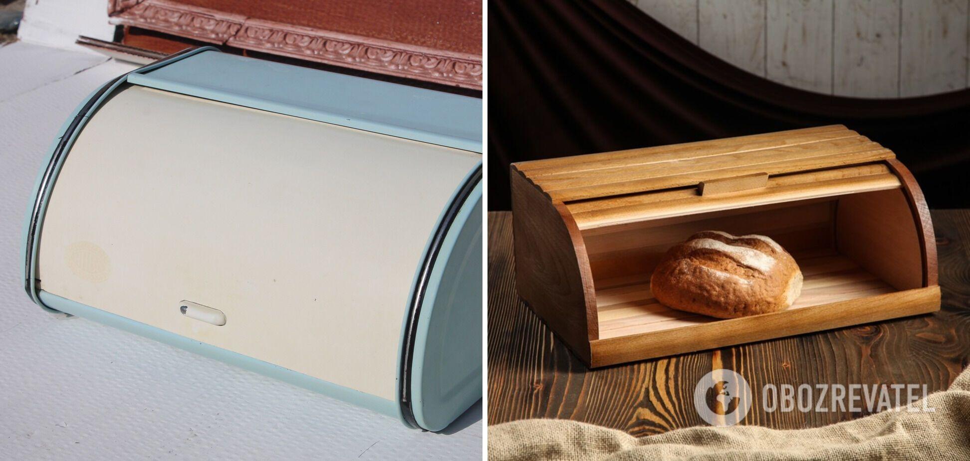 Корзина для хранения хлеба должна быть в каждой кухне.