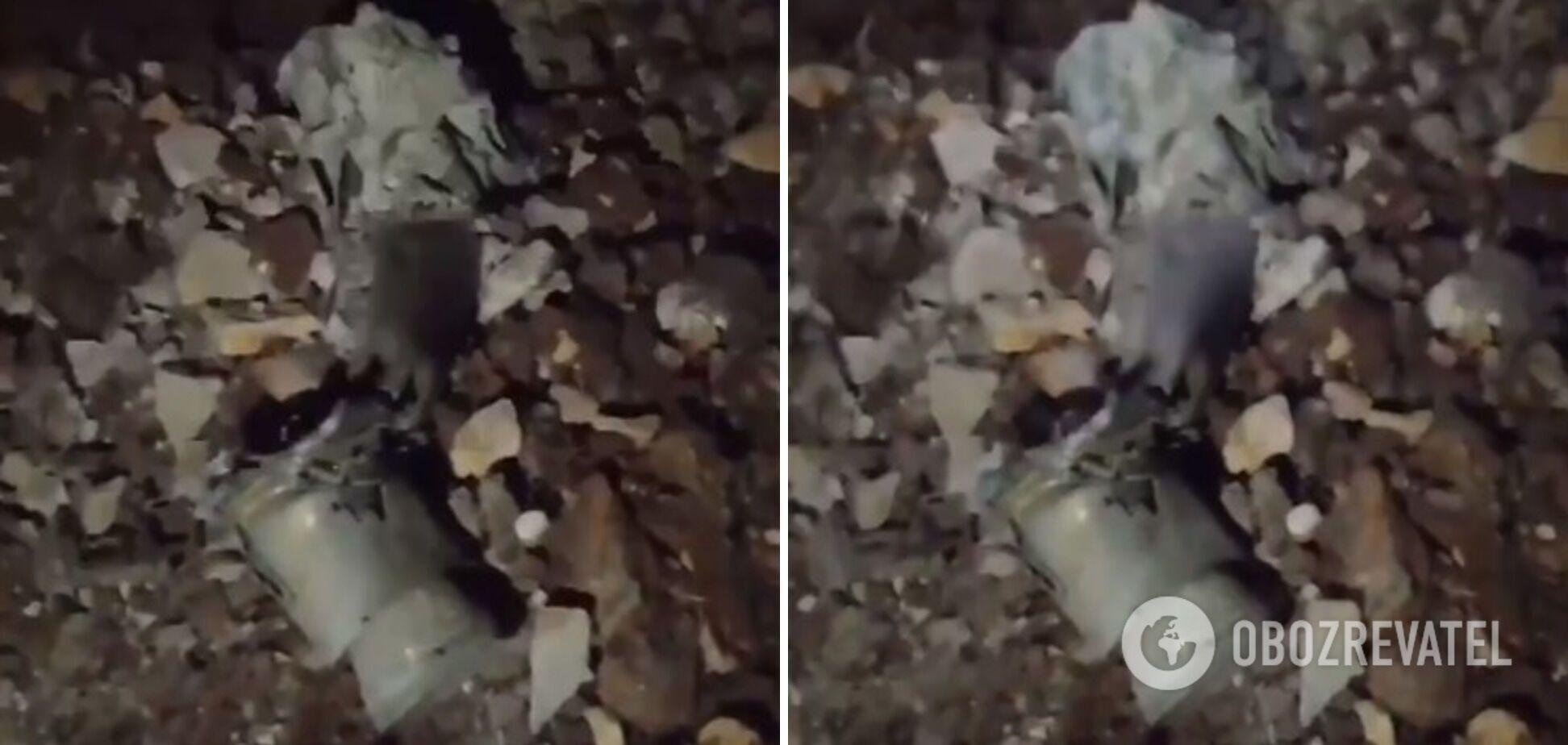 Частини ракет, які, ймовірно, впали в Лівані