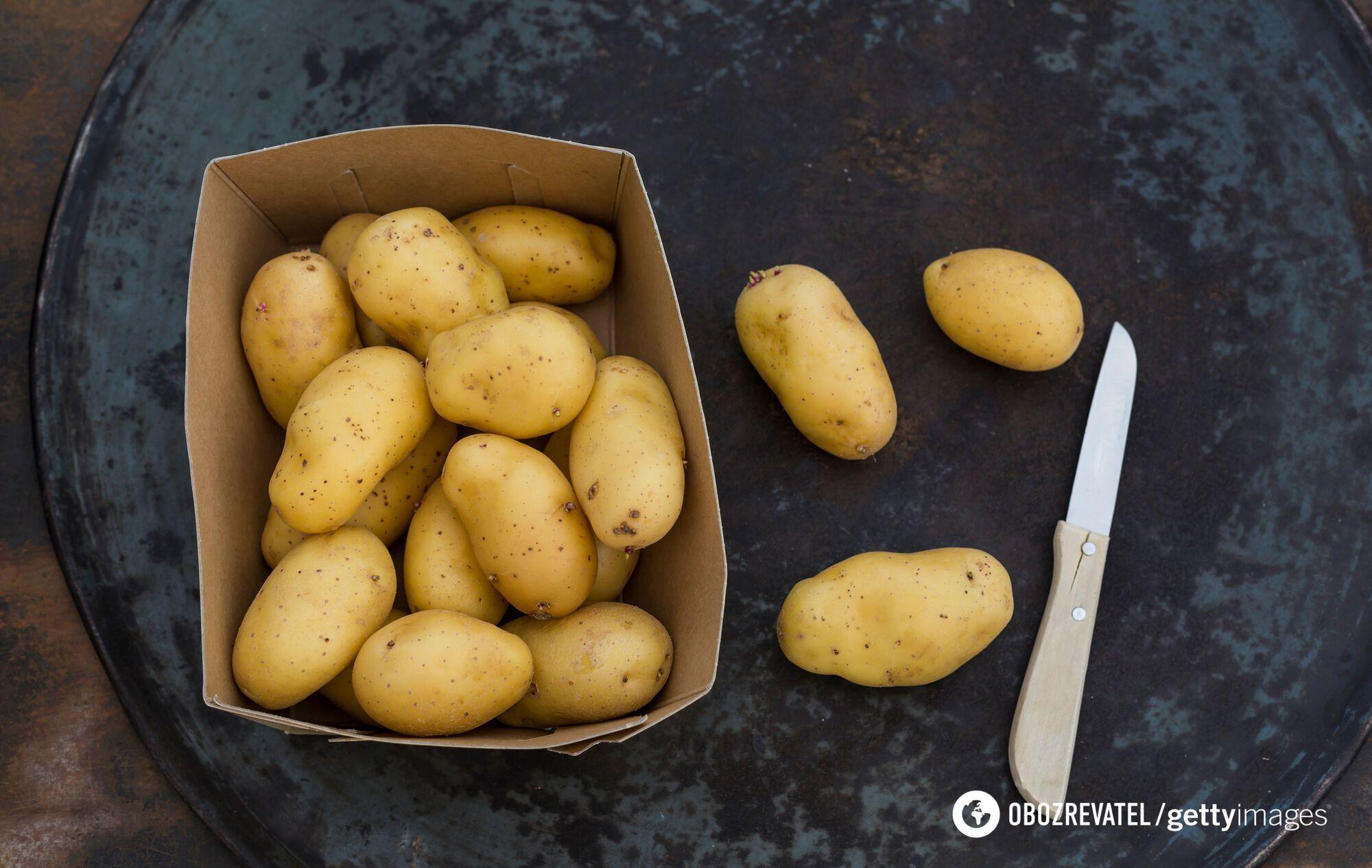 Як швидко очистити картоплю від шкірки