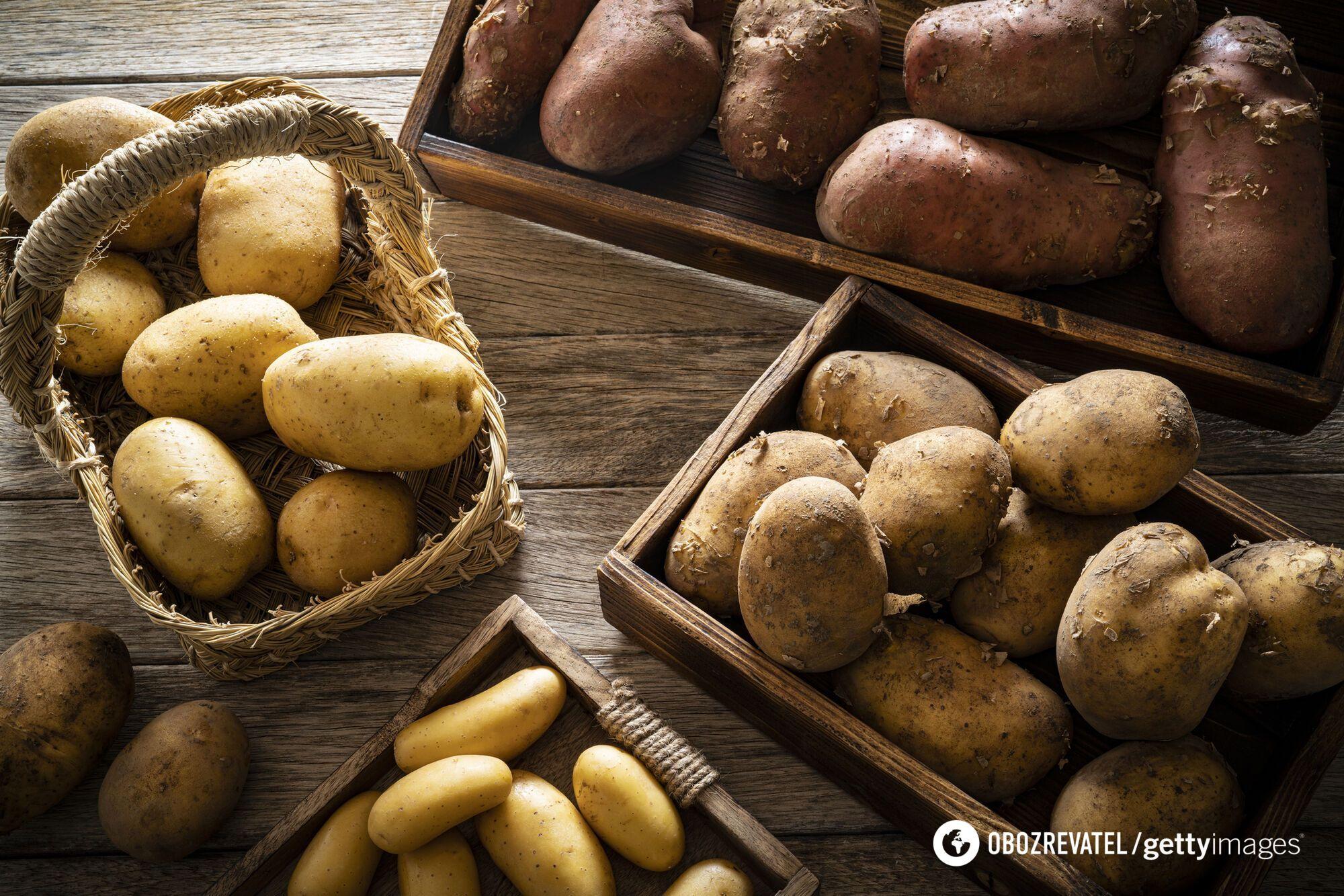 Швидкі методи чистки молодої картоплі