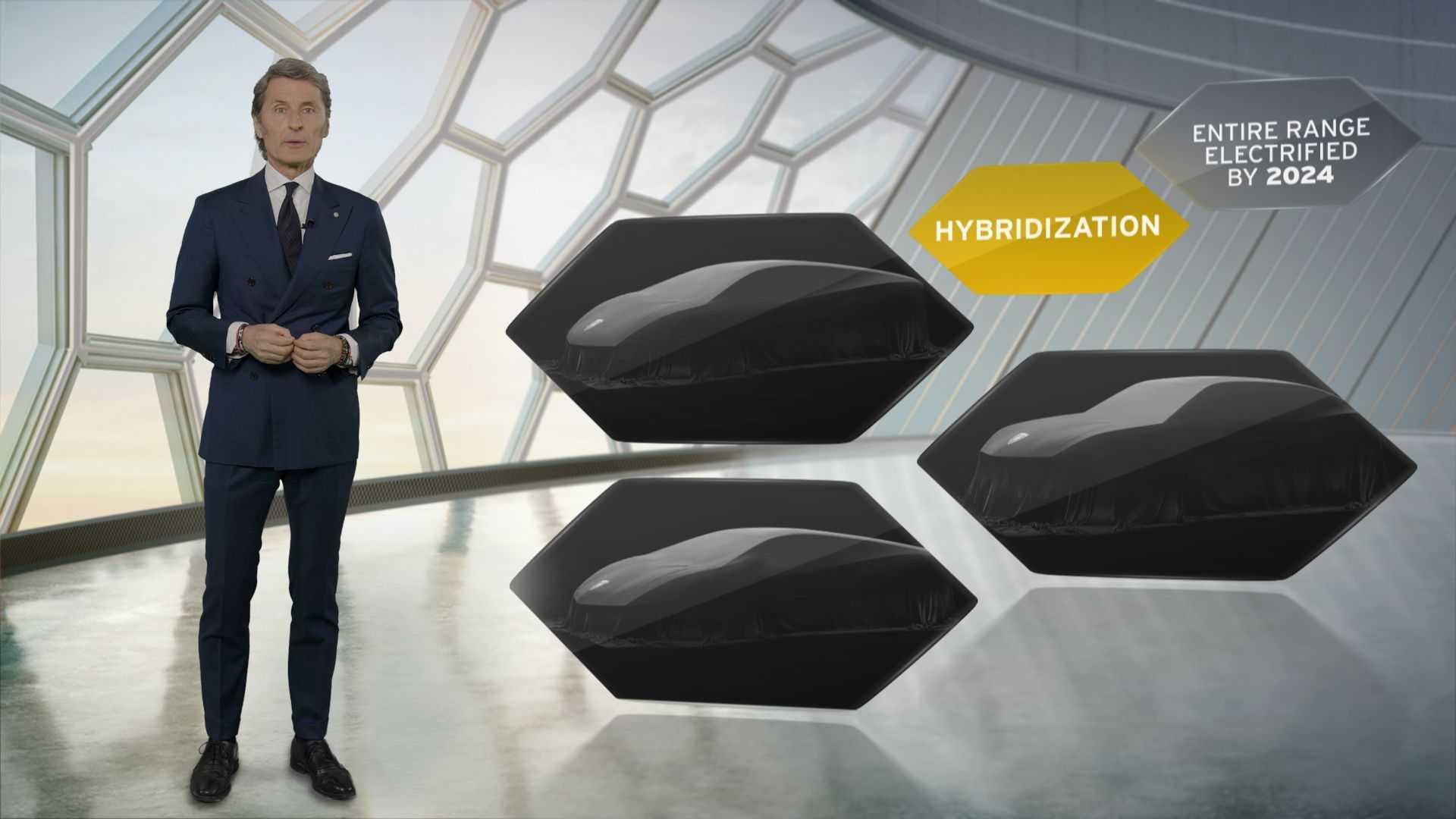 Оголошення Lamborghini про гібридизацію всіх своїх моделей