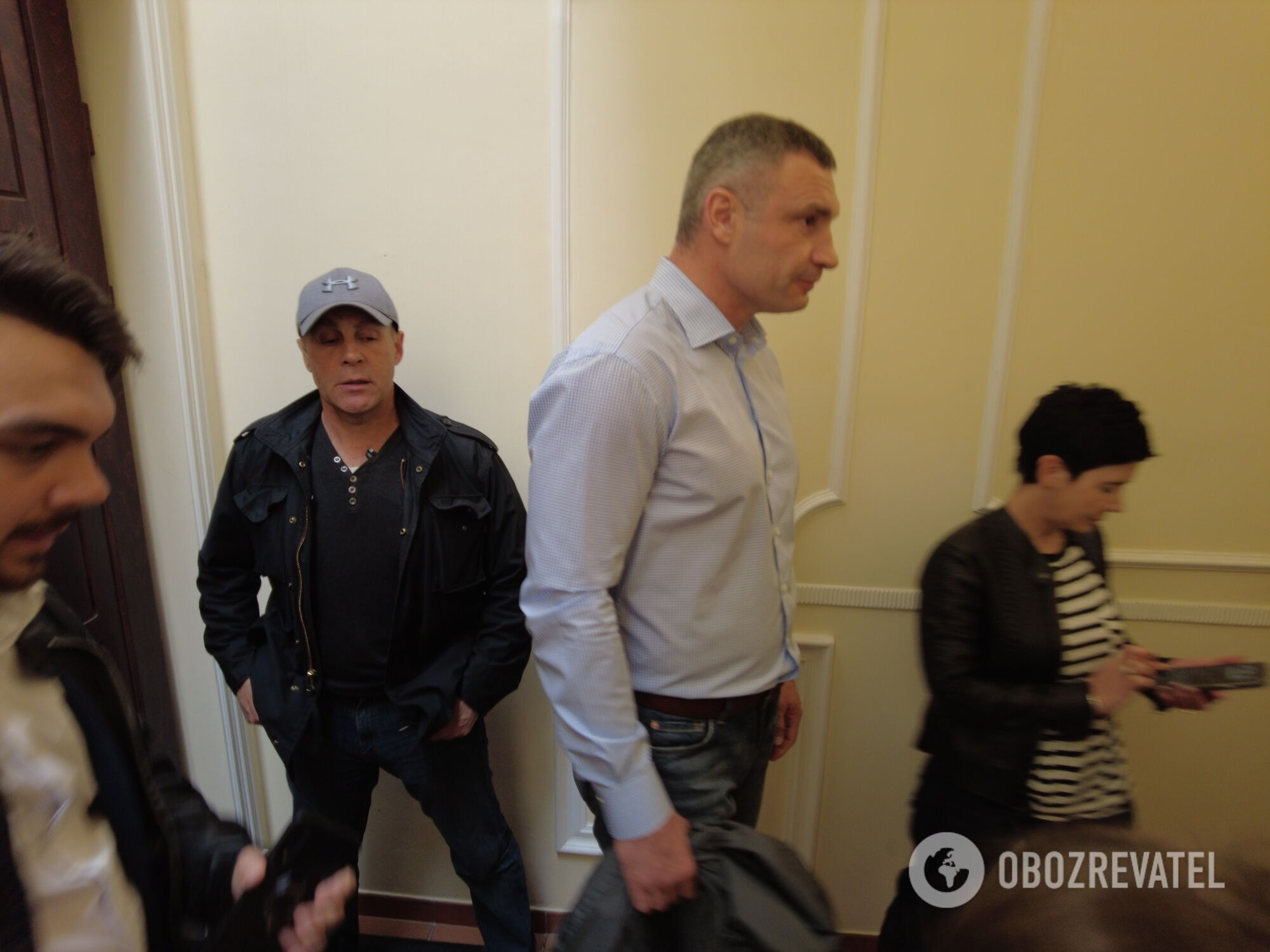 Виталий Кличко заявил, что силовики попали на камеру видеонаблюдения возле его квартиры