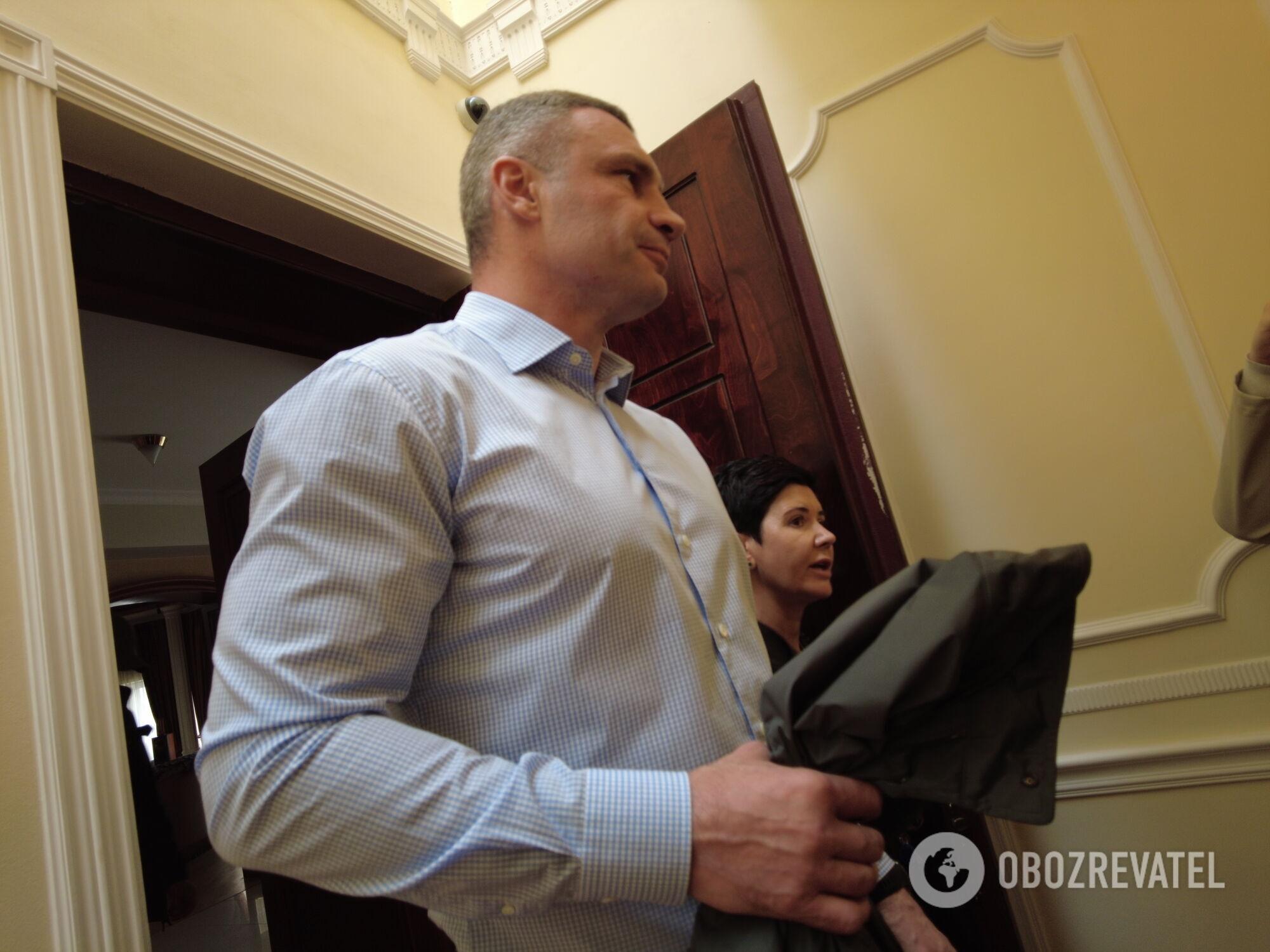 Виталий Кличко заявил, что обыски в его доме – элемент давления на него