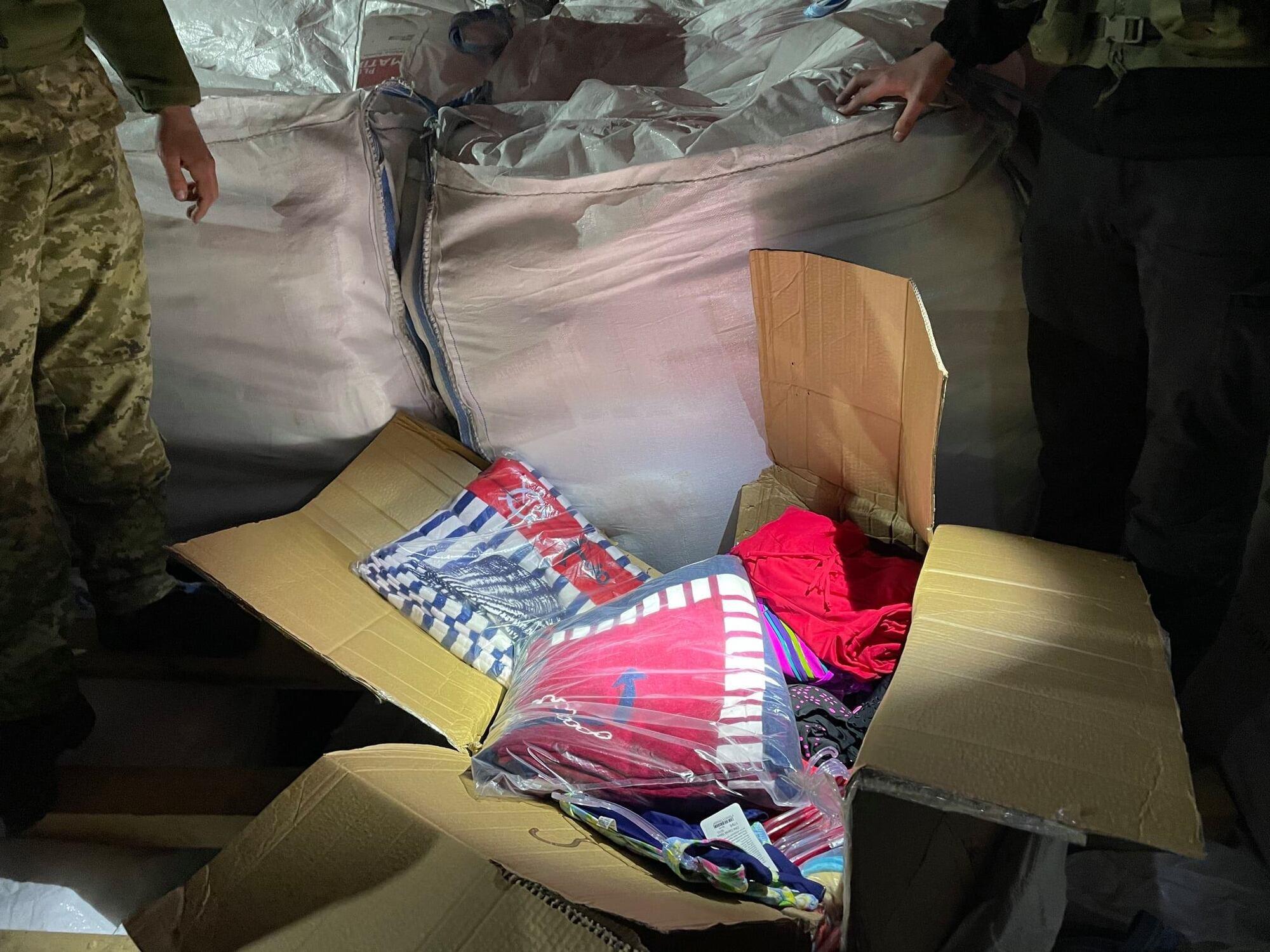 В Николаеве задержали рекордные 13 тонн контрабанды. Видео