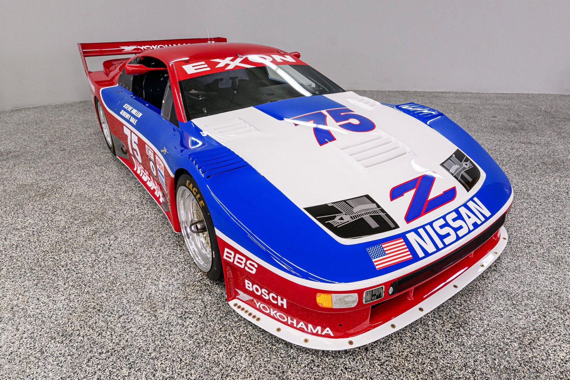 Это автомобиль был одним из семи построенных экземпляров, созданных на базе модели 1990 Nissan 300ZX