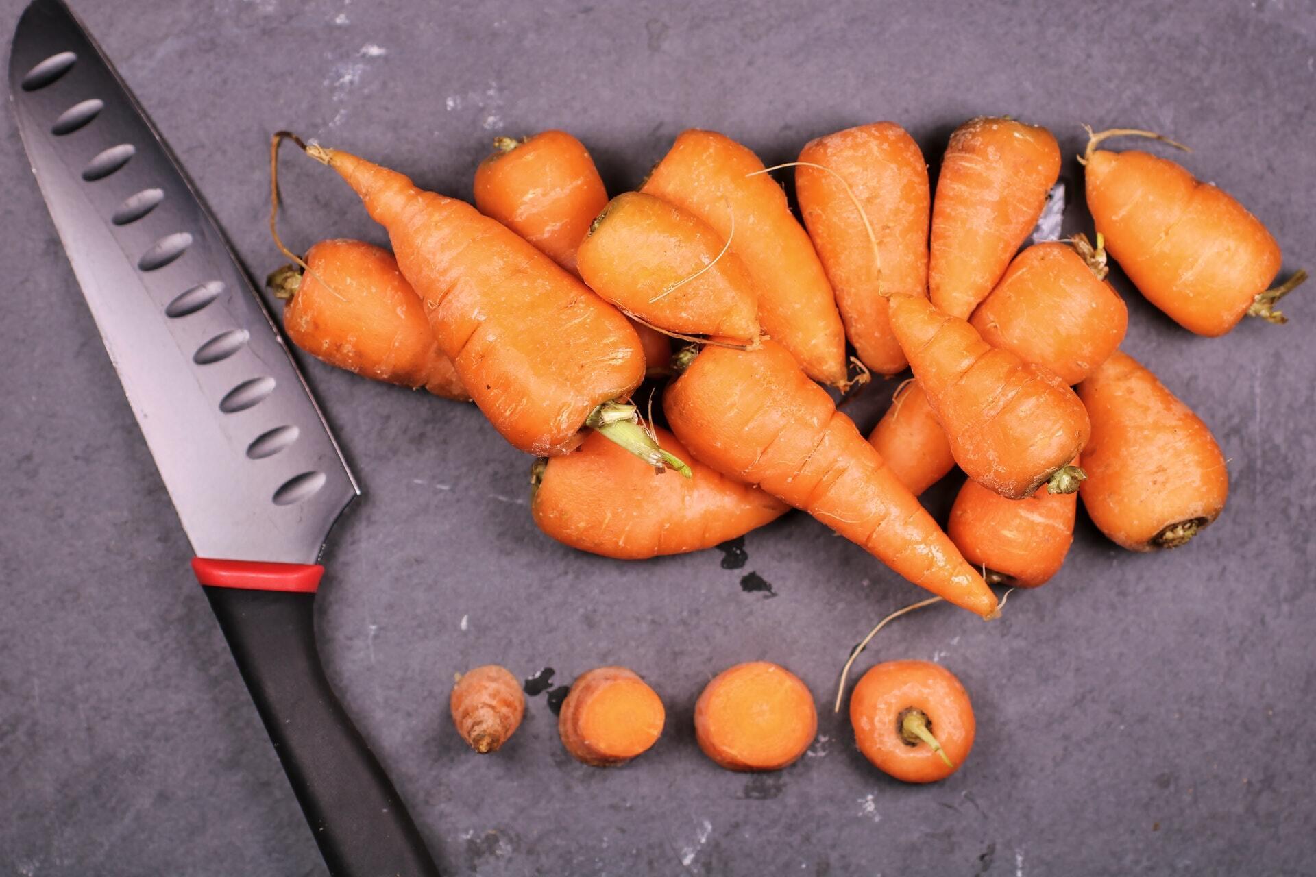 Морковь для овощных чипсов