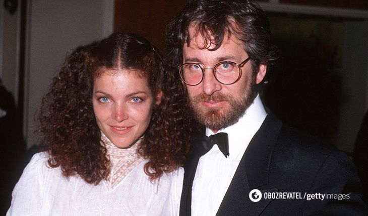 Стівен Спілберг та Емі Ірвінг були в шлюбі чотири роки